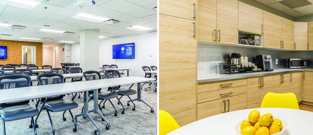 WorkSocial Training Room with Fully Fitted Kitchen Facility Accessible